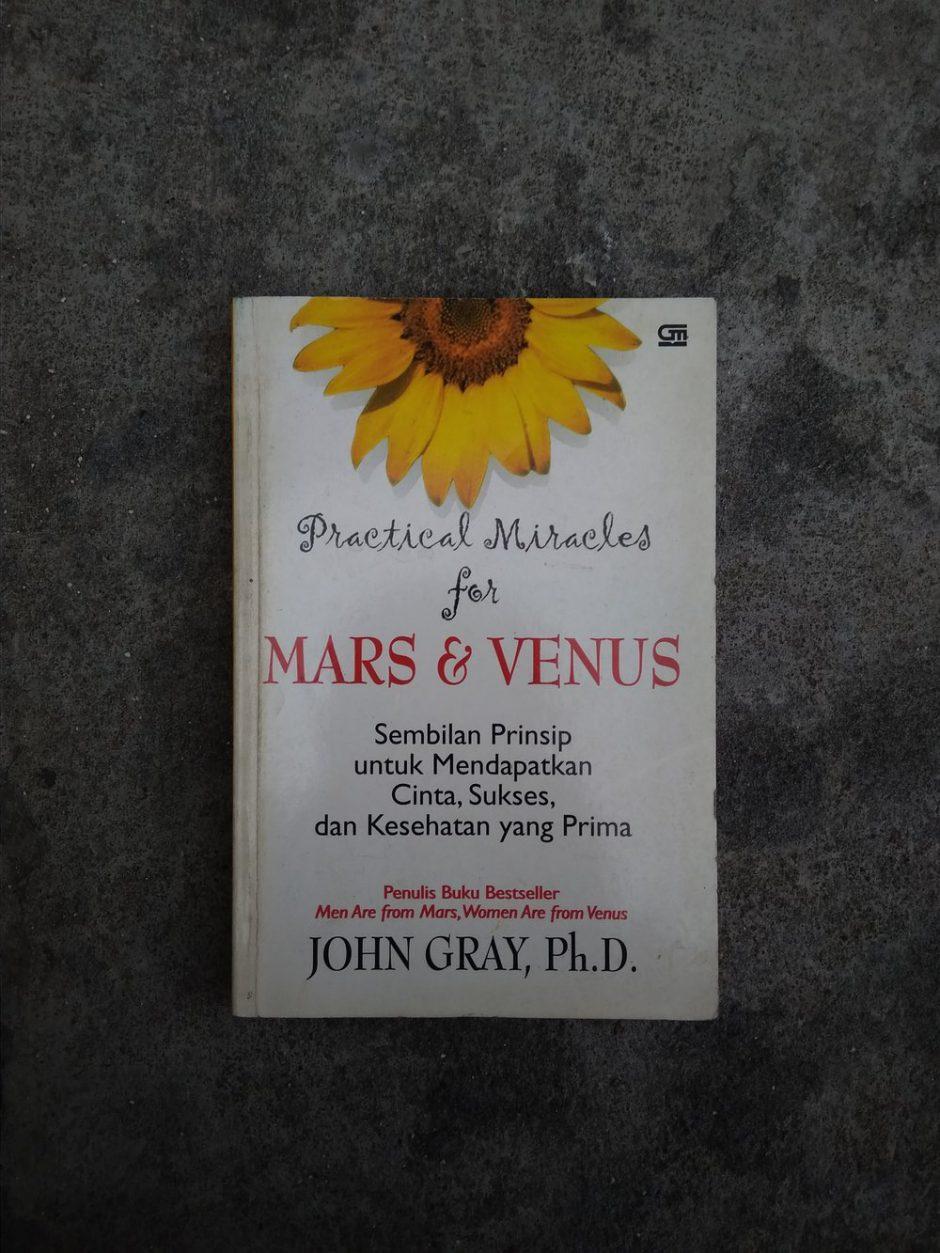 Resensi Buku: Practical Miracles for Mars and Venus